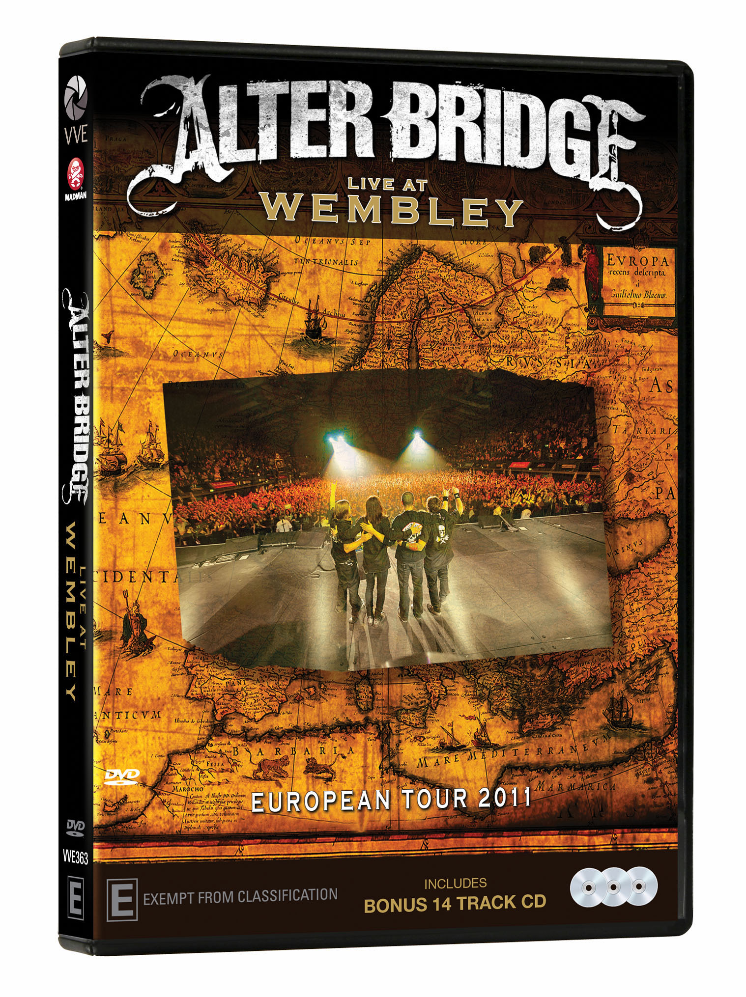 Alter Bridge - Live at Wembley 2DVD/1CD