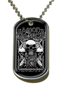 Amon Amarth - Skulls Dog Tag