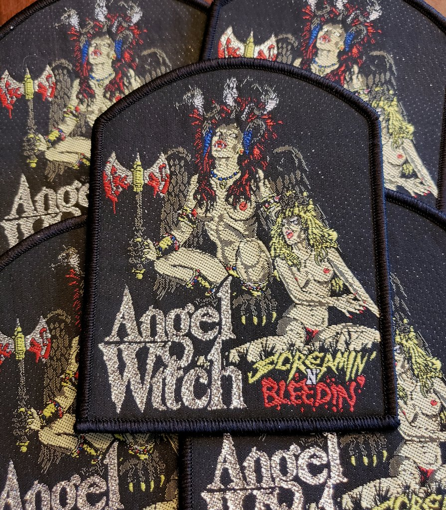 Angel Witch - Screaming n Bleeding (Rare)