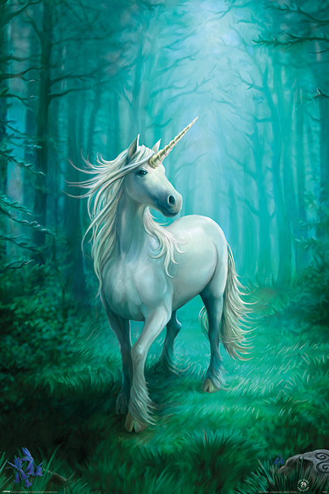 Anne Stokes - Forest Unicorn