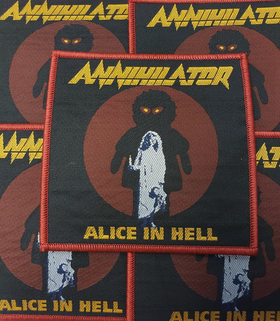 Annihilator - Alice in Hell (Rare)