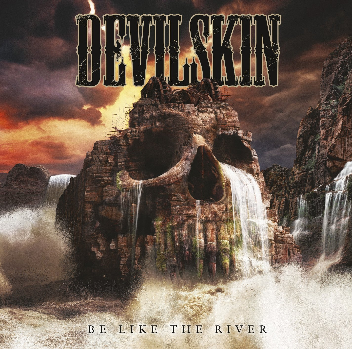 Devilskin - Be Like the River CD