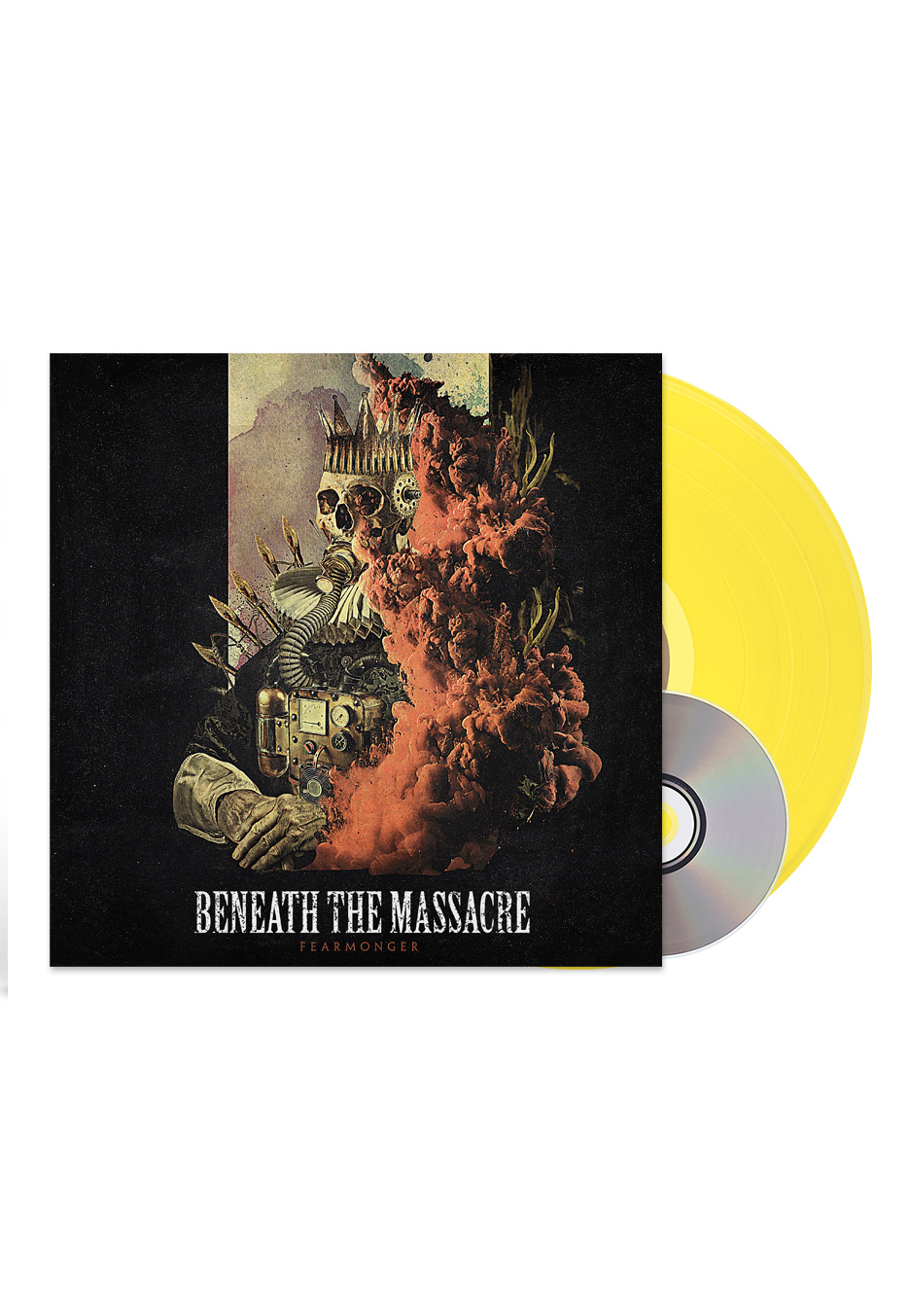 Beneath the Massacre - Fearmonger. Ltd Ed. Yellow LP with CD