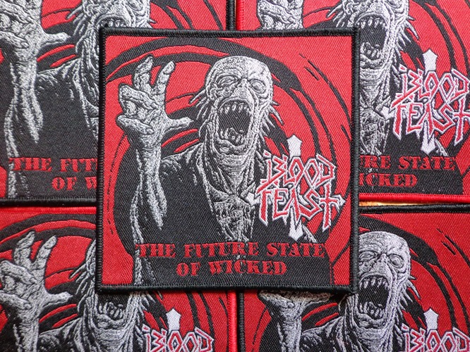 Blood Feast - The Future State of Wicked black edge (Rare)