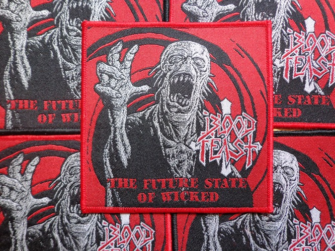 Blood Feast - The Future State of Wicked red edge (Rare)