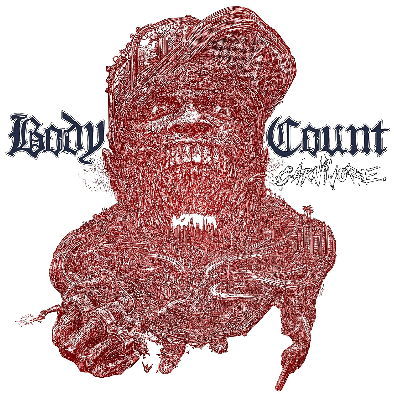 Bodycount - 'Carnivore' Ltd Ed. Gatefold 180gm Blue LP plus poster & CD