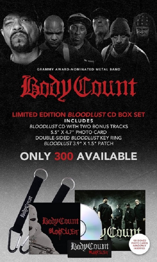 Body Count - Bloodlust Ltd Ed. CD Box Set!