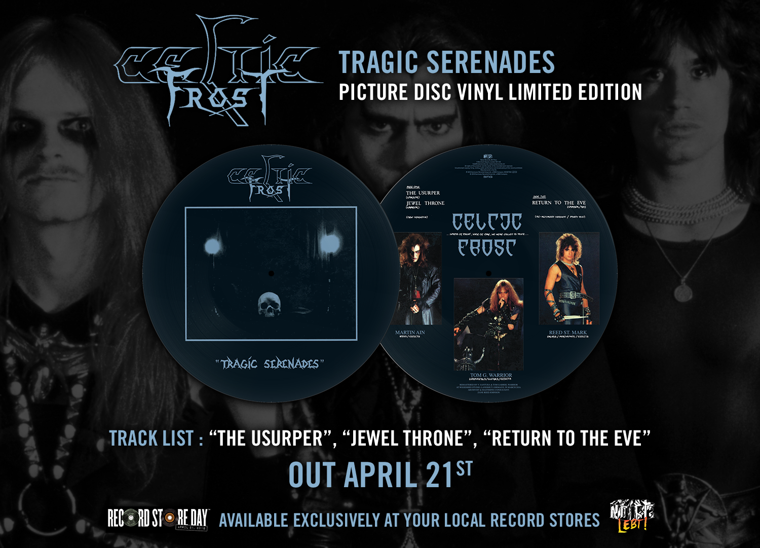 Celtic Frost - Tragic Serenades 2018 RSD Picture Disc