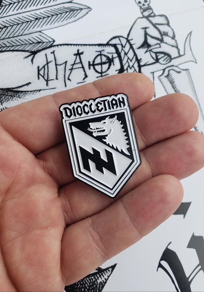 Diocletain - Metal Pin (Rare)