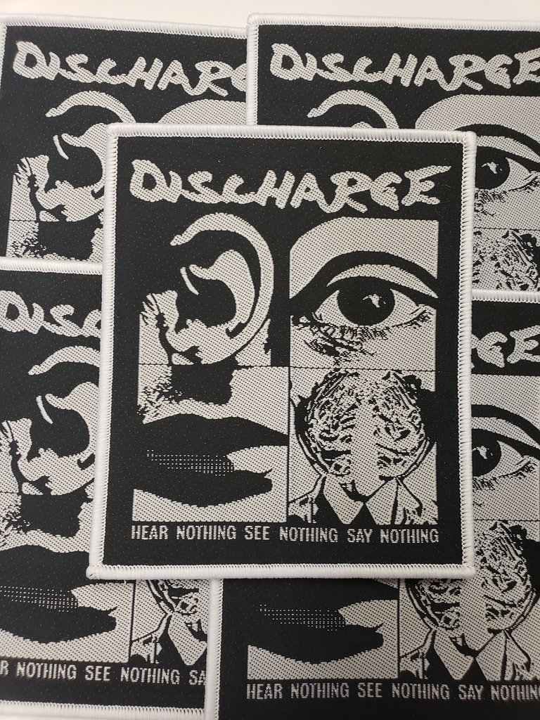 Discharge - Hear Nothing See Nothing Say Nothing (Rare)