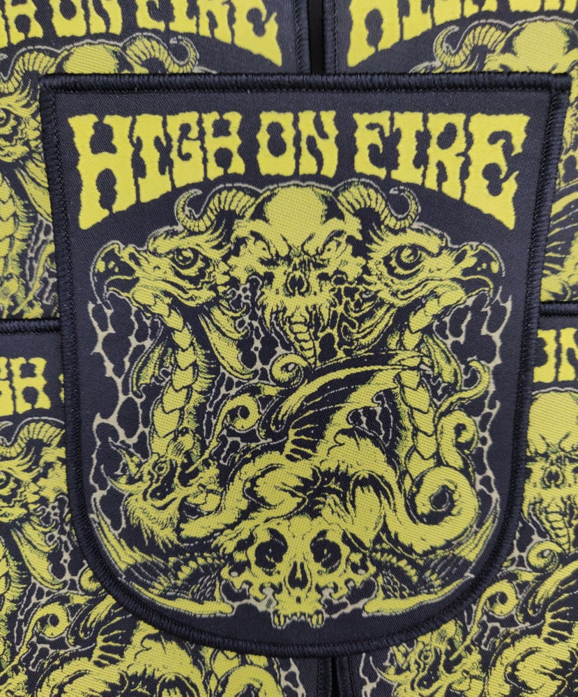 High on Fire black (Rare)