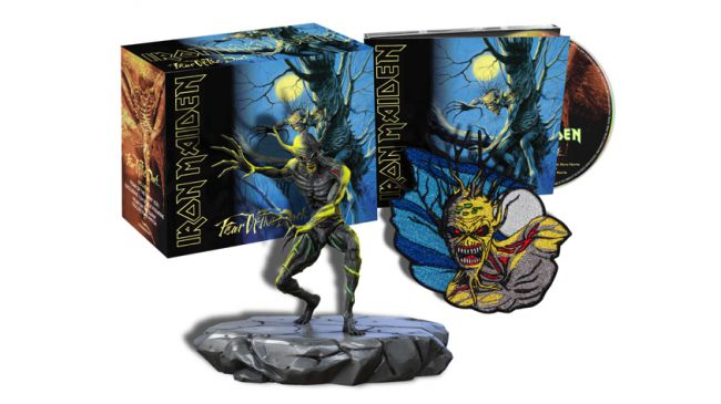 Iron Maiden - Fear of the Dark Deluxe CD Box Set!