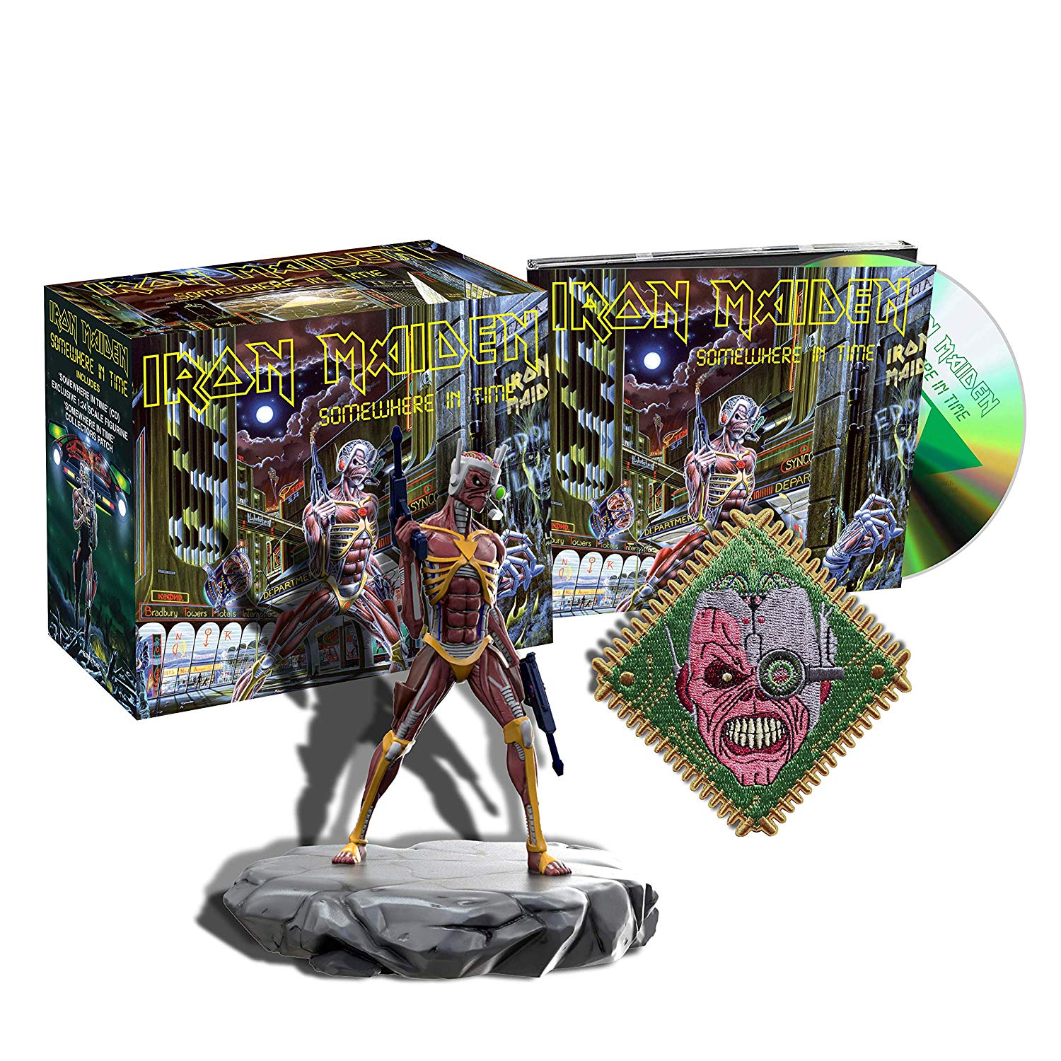 Iron Maiden - Somewhere in Time Deluxe CD Box Set!