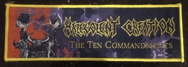 Malevolent Creation - The Ten Commandments (Rare)