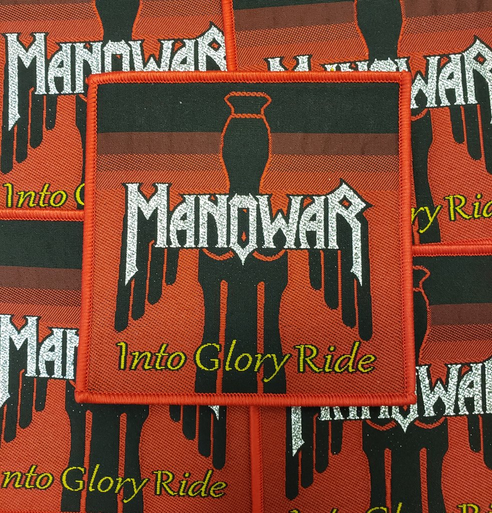 Manowar - Into Glory Ride (Rare)