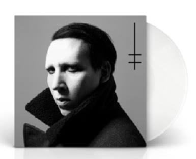 Marilyn Manson - Heaven Upside Down Ltd . WHITE vinyl!