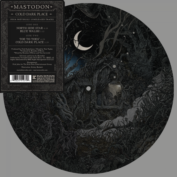 "Mastodon - Cold Dark Place 10"" Picture Disc."
