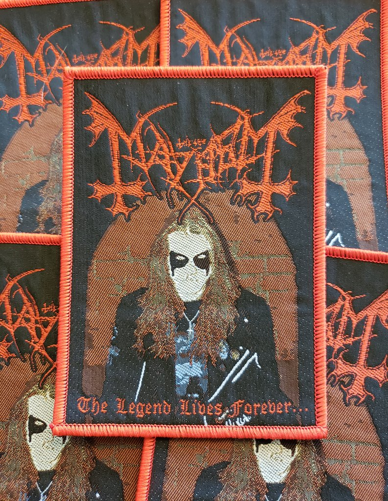 Mayhem - The Legend Lives Forever (Rare)