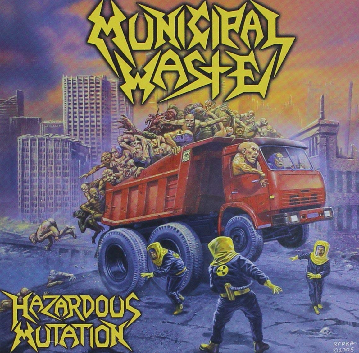Municipal Waste - Hazardous Mutation CD