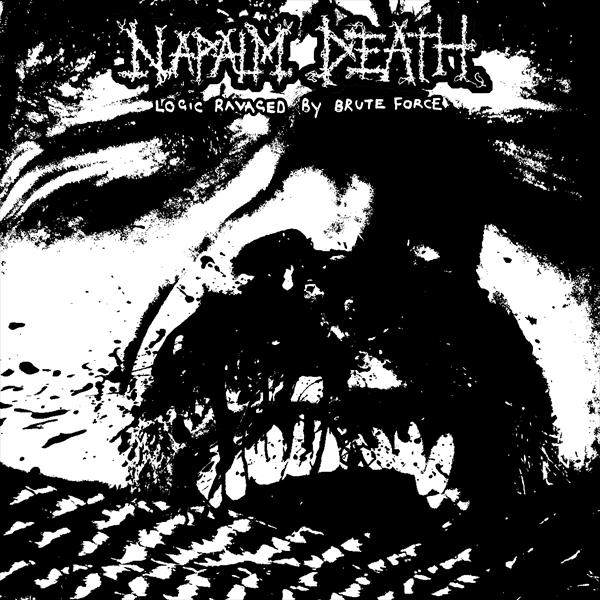 Napalm Death - Logic Ravaged by Brute Force Ltd Ed 7""