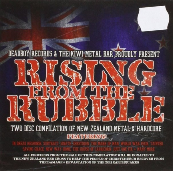 Rising from the Rubble - 2CD (Various NZ Metal)
