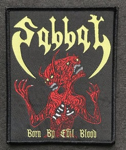 Sabbat - Born by Evil Blood (Rare)