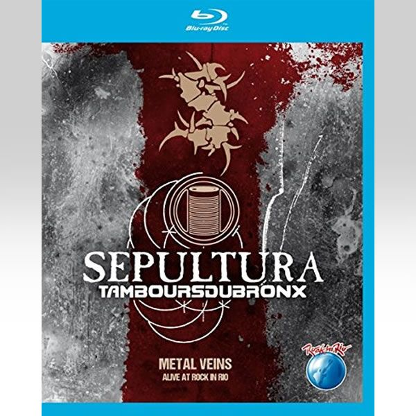Sepultura - Alive at Rock in Rio - Metal Veins BLURAY