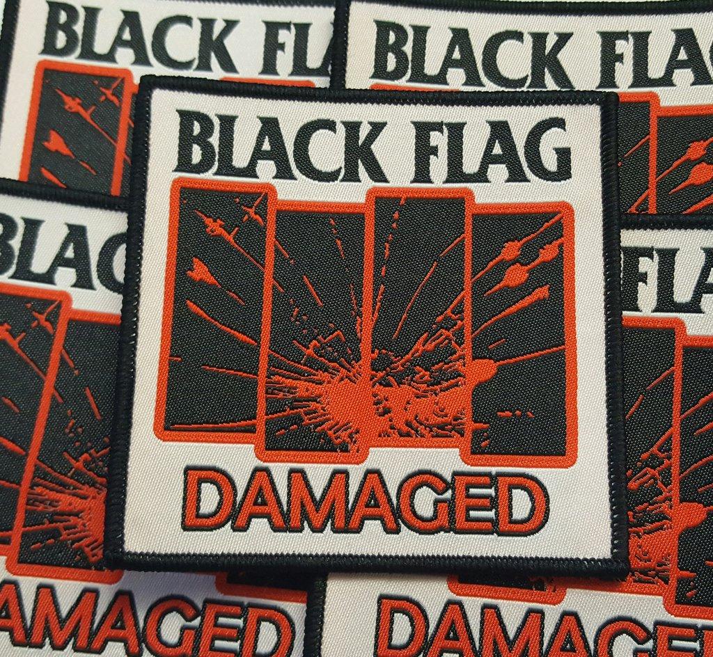Black Flag - Damaged. Rare!