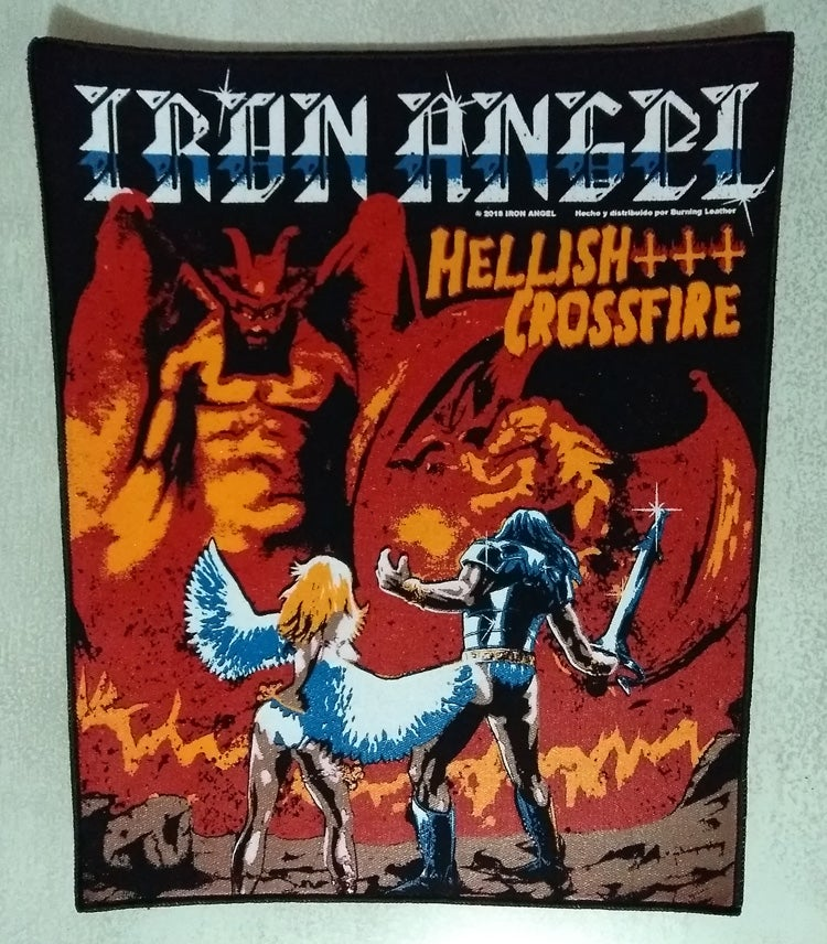 Iron Angel - Hellish Crossfire (Rare)