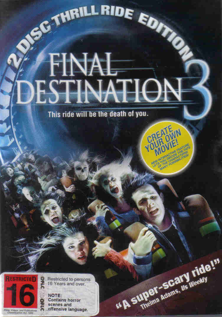 Final Destination 3. 2-Disc