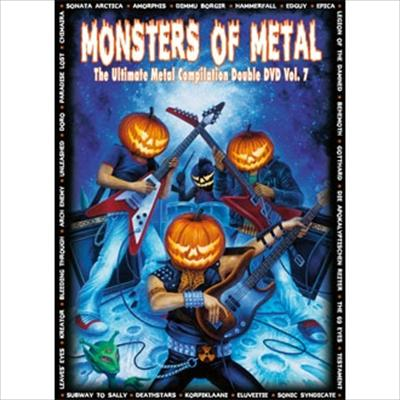 Monsters Of Metal - Vol. 7 (2DVD DIGIBOOK)