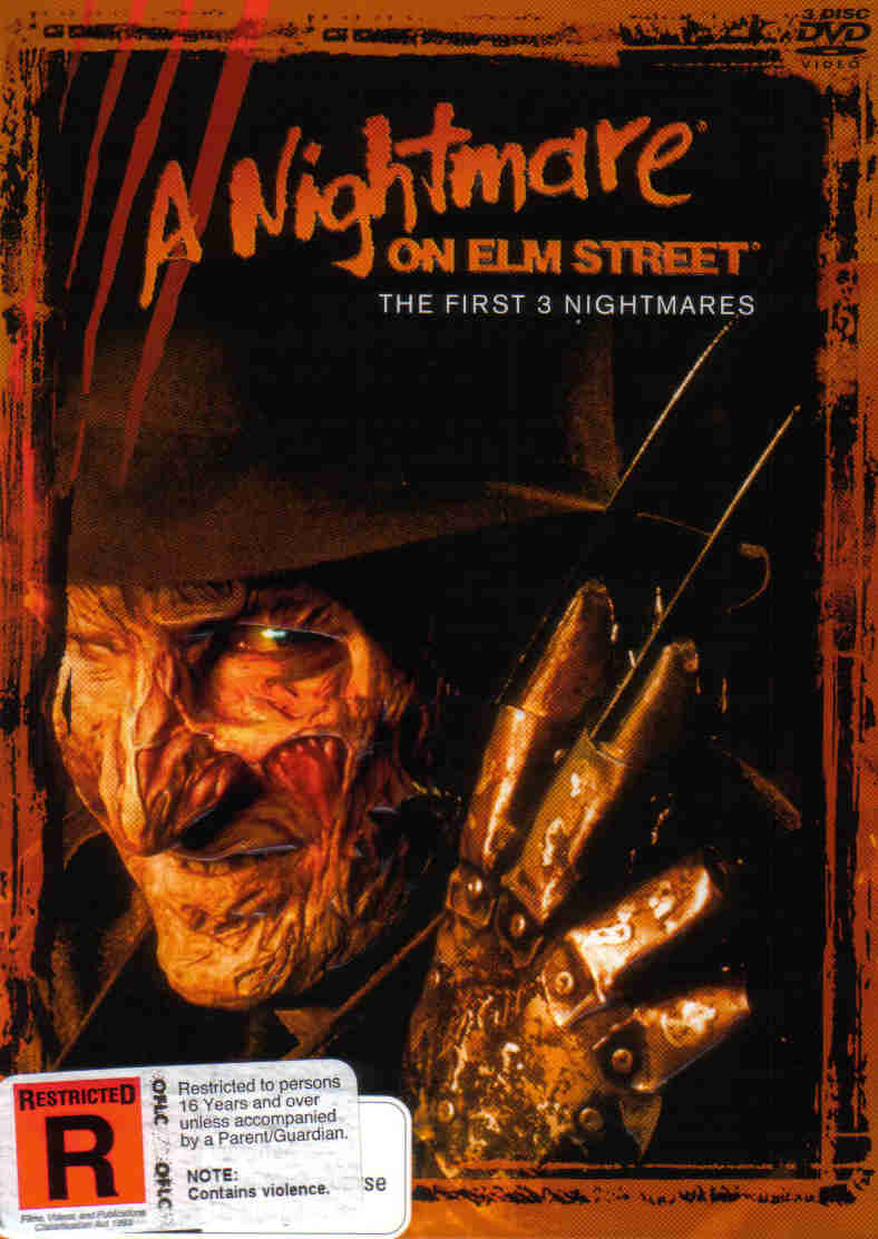 Nightmare on Elm St Set 1 (3 disc)