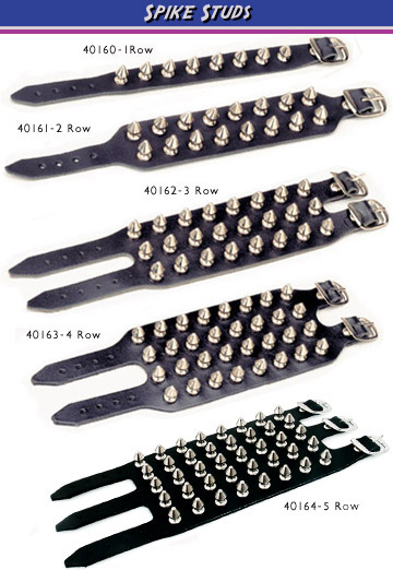 4 Row studded Spike Braclet - SOLD OUT!