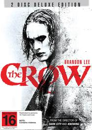 The Crow 2-Disc Deluxe Edition.