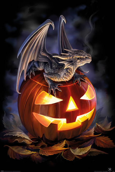 Anne Stokes - Trick or Treat