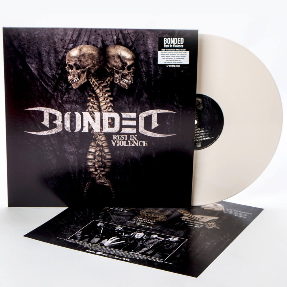 Bonded - Rest in Violence Ltd Ed. White Vinyl 180gm LP - 200 worldwide