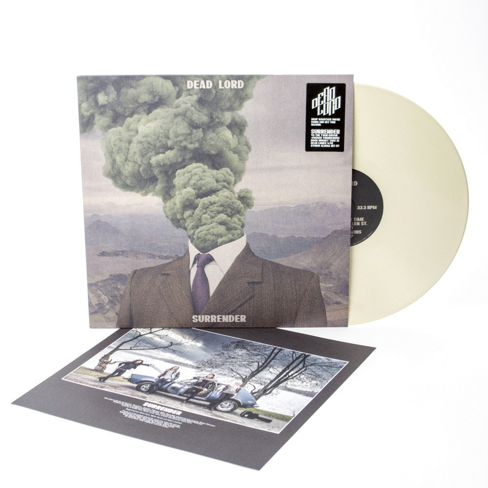 Dead Lord - Surrender. Creamy White Vinyl - only 300 worldwide!