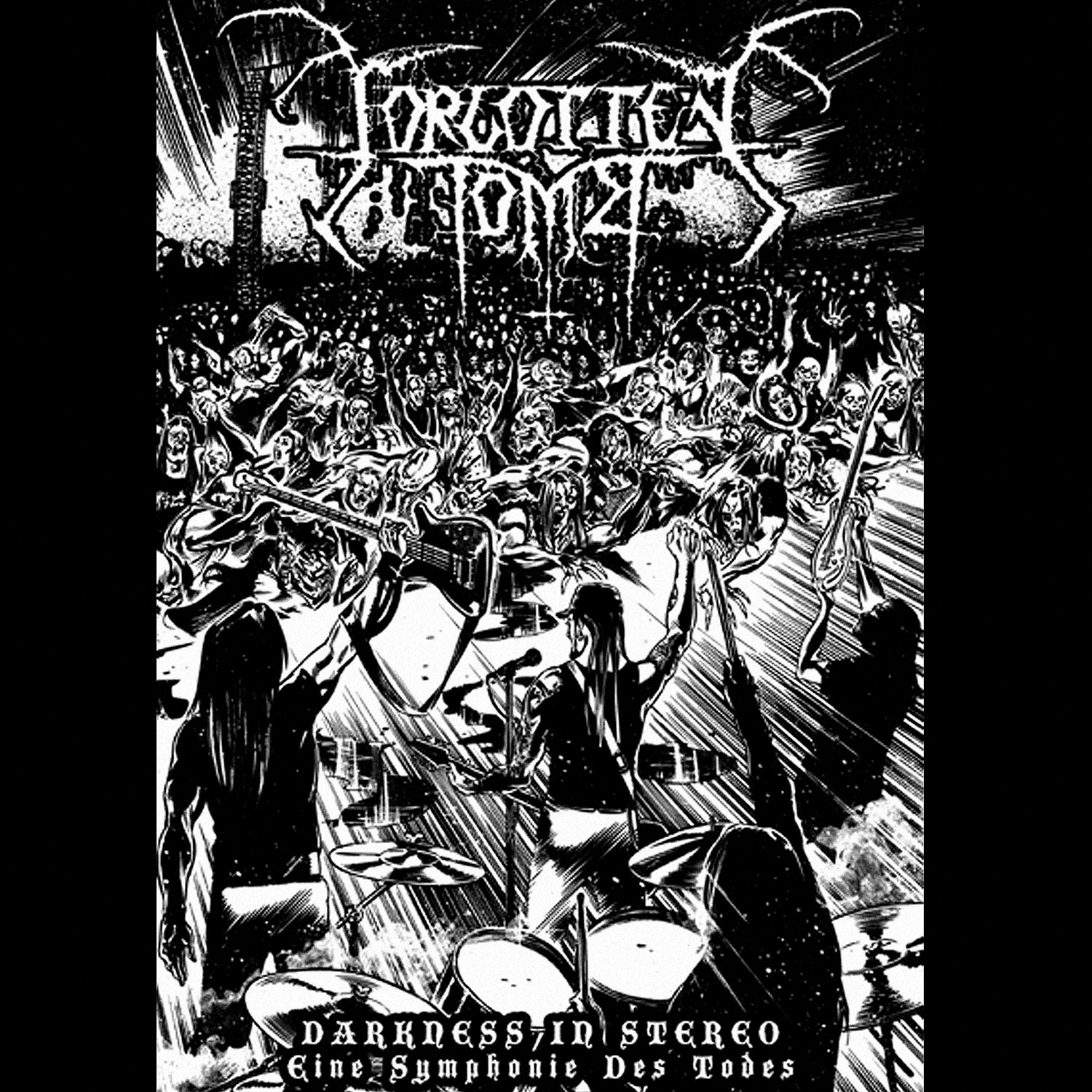 Forgotten Tomb - Darkness in Stereo A5 DVD Book