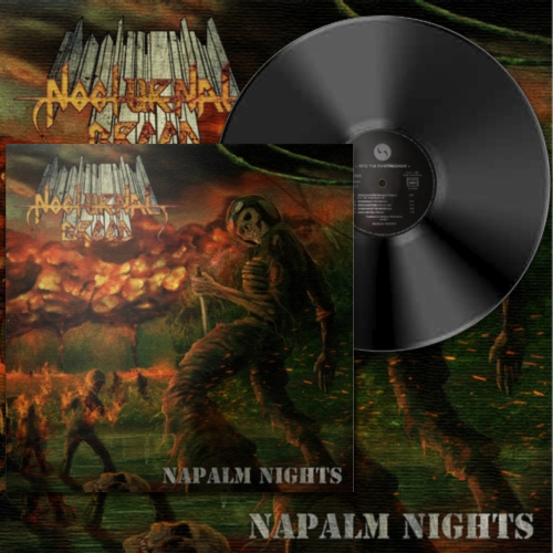 Nocturnal Breed - Napalm Nights. Gatefold 2LP