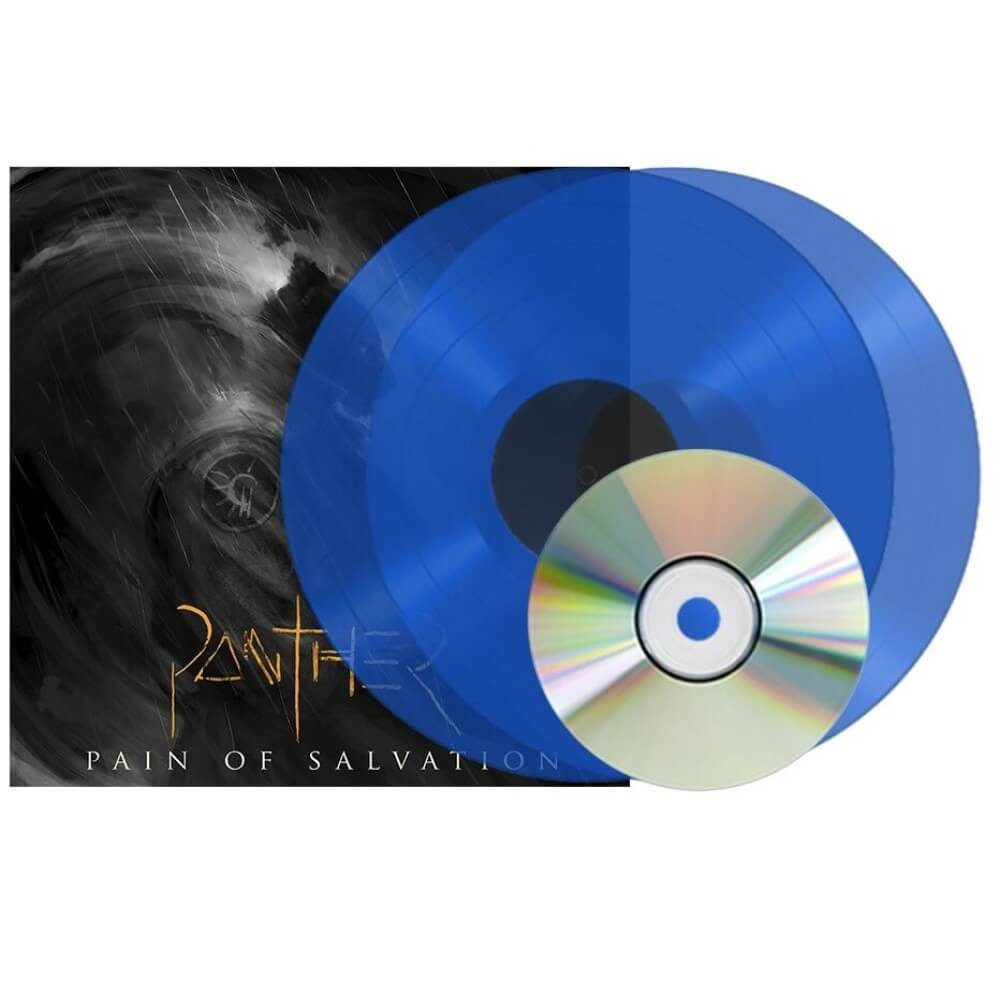 Pain of Salvation - Panther 180gram 2LP + CD. Blue Vinyl - only 200 worldwide!