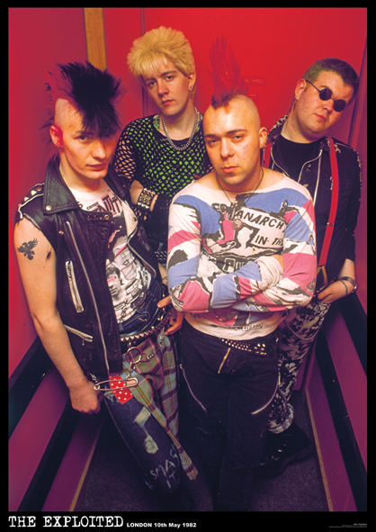 The Exploited - Band 1982