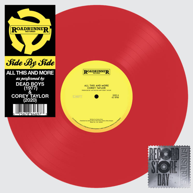 Corey Taylor (CMFT) - All This & More (2020 Black Friday RSD release)